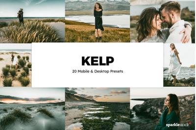20 Kelp Lightroom Presets & LUTs