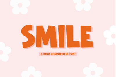 Smile - Handwritten Font with Extras!