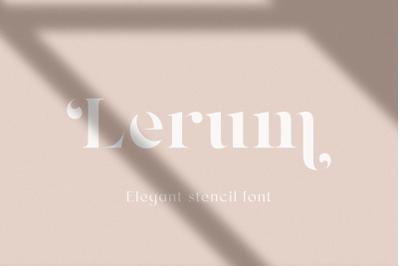 Lerum INTRO SALE 30%