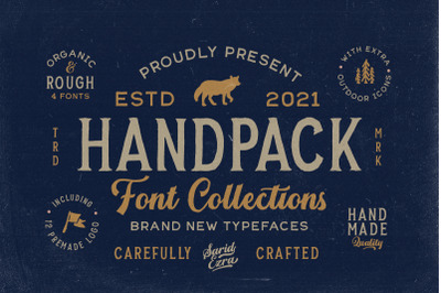 Handpack Font Collections (+EXTRA)
