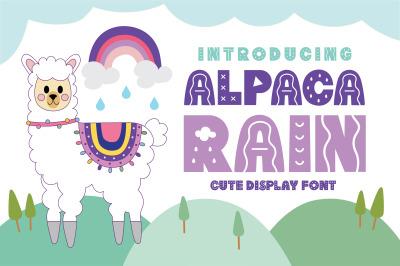 Alpaca Rain