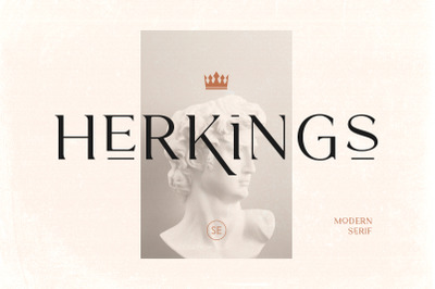 Herkings - Minimalis & Modern Serif