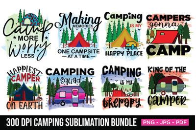 Camping Sublimation Bundle, Sublimation