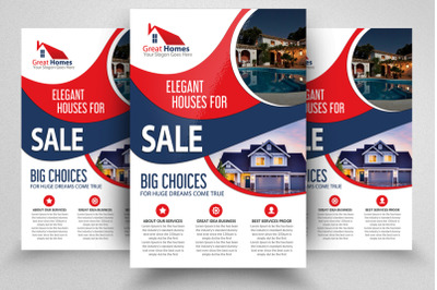 House For Sale Flyer&2F;Poster