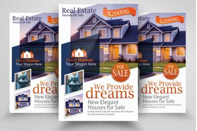 Real Estate Agency Flyer&2F;Poster