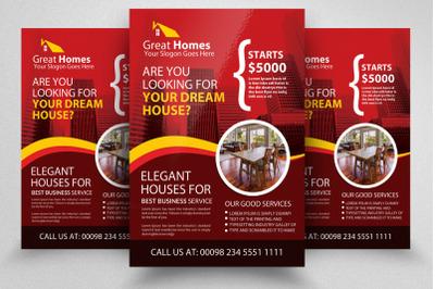 Real Estate Dealing Flyer Template