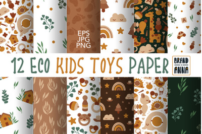 Eco Kids Toys patterns pack