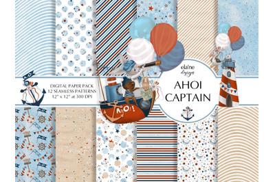 Ahoy Captain Background Patterns