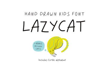 Lazycat kids font