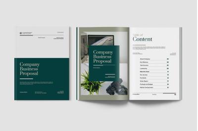 Elegant Business Proposal Document