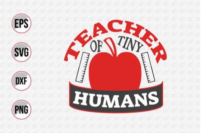 Teacher of tiny humans svg.