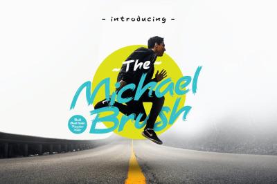 Michael Brush Display Font
