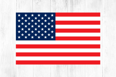 American Flag SVG Clipart, 4th of July