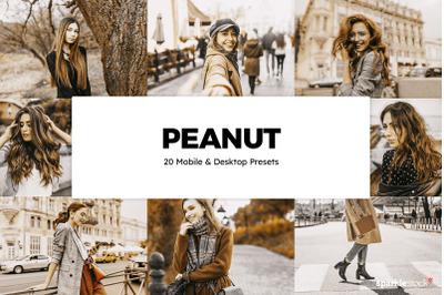 20 Peanut Lightroom Presets & LUTs