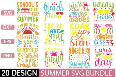 summer svg bundle vol 6