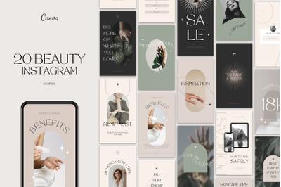 Beauty Instagram Stories Templates
