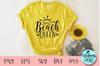 Beach queen svg, summer svg