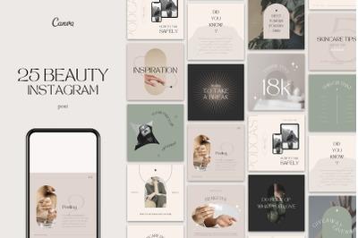 Beauty Instagram Posts Templates