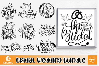 Bridal Wedding Quotes SVG Bundle