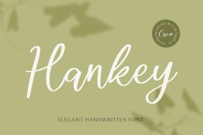 Hankey - Handwritten Font