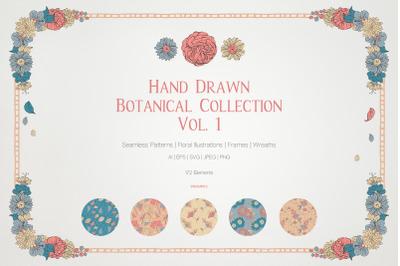 Hand Drawn Botanical Collection Vol.1