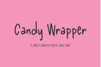 Candy Wrapper Sans