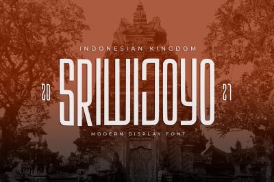 Sriwijoyo - Sans Serif Font