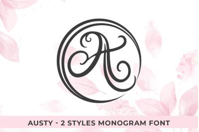 Austy Monogram