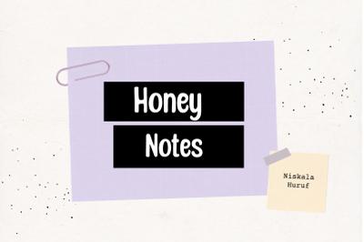 Honey Notes