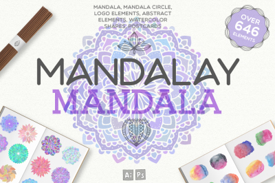 Mandalay Mandala [646 Elements]