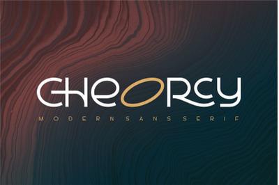 Cheorcy |Modern Sans|