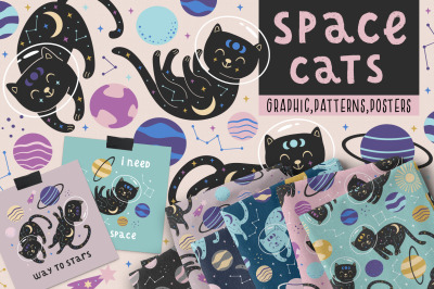 space cats collection