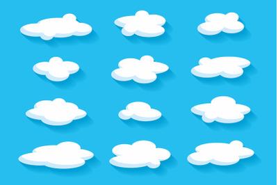 Clouds + pattern