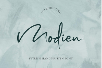 Modien - Stylish Handwritten Font