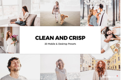 20 Clean and Crisp Lightroom Presets and LUTs