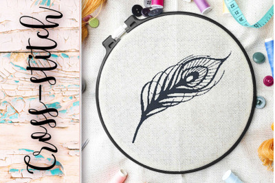 "cross-stitch ""bird feather"""