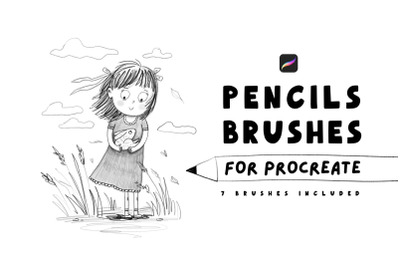 Pencils brushes for Procreate