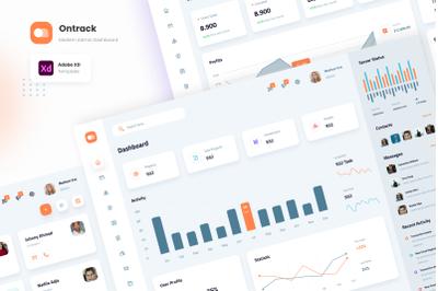 Ontrack - Modern Admin Dashboard