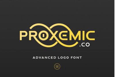 Proxemic - Advanced Logo Font