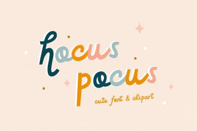Hocus pocus | Cute font
