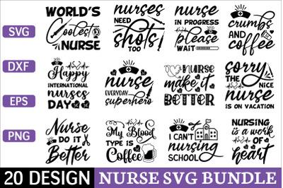 nurse svg bundle vol 1