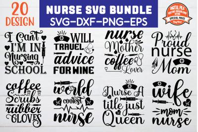 nurse svg bundle vol 3