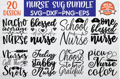 nurse svg bundle vol 4