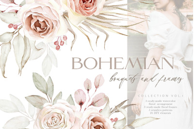 Bohemian Watercolor Collection Vol.1