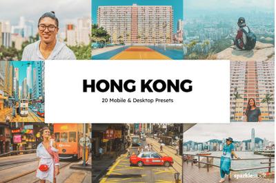 20 Hong Kong Lightroom Presets & LUTs