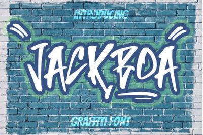 JACKBOA - Graffiti Style Font