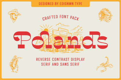 Polands - Display Font