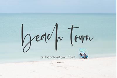 Beach Town Script