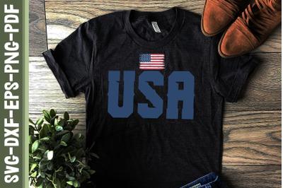 USA Flag 4th of July America