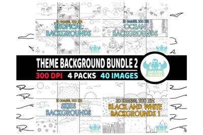 Black and White Theme Background Bundle 3